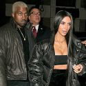 Kim & Kanye Celebrate Valentine's Day Together In New York Ahead Of Yeezy Season 5 Show