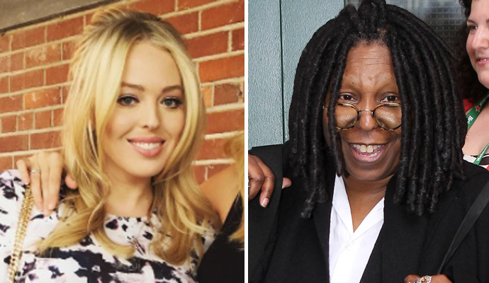 Whoopi Defends Tiffany Trump From Liberal Bullies