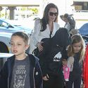 Angelina Jolie Jets Back To Cambodia With All Six Kids In Tow