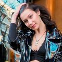 Bella Hadid Goes Goth In Paris
