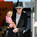 Chrissy Teigen And John Legend Go Shopping With Adorable Daughter Luna
