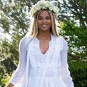 Ciara Looks Like An Ethereal Goddess At Her Baby Shower