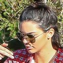 Kendall Jenner Rolls With A Bodyguard After Burglary