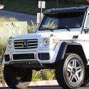 Scott Disick Gets A Monster Mercedes G-Wagon