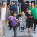 Report: Brad Pitt Has First Overnight Visit With His Six Kids