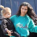 Ready For The Spotlight! Kourtney And Scott's Son Reign Disick Runs Towards Photographers At The Bowling Alley