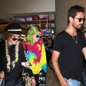 Scott Disick Jets To Europe With His New Bae Bella Thorne