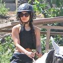 Vanessa Hudgens Is Back In The Saddle
