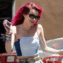 Bella Thorne Skips With Joy After Reuniting With Scott Disick
