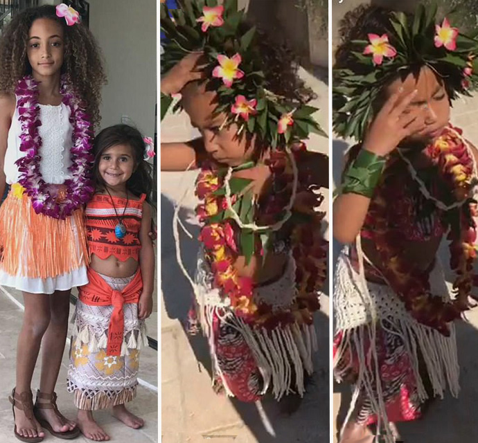 Nori Celebrates Her 4th Birthday In An Adorable But Uncomfortable Moana Costume