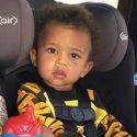 Kim Kardashian Mom-Shamed Over Son Saint's Front-Facing Car Seat