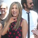 Jennifer Aniston And Justin Theroux Support Jason Bateman At His Walk Of Fame Star Ceremony