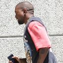 Kanye Gives Us A Glimpse Of His Kardashian Booty As He Runs Away From Jay-Z Drama