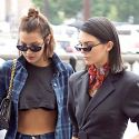 Kendall And Bella Hit Paris!