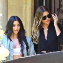 Kim Brings Khloe Along To Visit Her Old Beverly Hills Home While Filming <em>KUWTK</em>