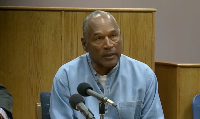 Parole Board Grants Early Release Request For OJ Simpson
