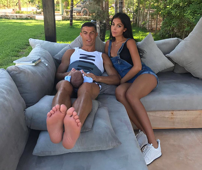 Cristiano Ronaldo 'confirms' girlfriend Georgina Rodriguez's pregnancy