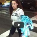 "Danielle ""Cash Me Outside"" Bregoli Taunts Photographers At LAX"
