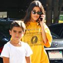 Kourtney Kardashian Hangs With Son Mason, But Isn't Ready To Introduce Him To Boy Toy Younes Bendjima Just Yet