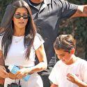 Kourtney Kardashian Handles Parenting Duties Without Scott Disick