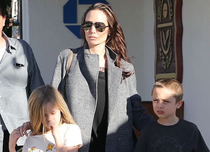 Angelina Jolie says her children laugh at her on the red carpet