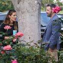 "<em><span class=""exclusive"">EXCLUSIVE PHOTOS</span></em> - Ben Affleck And Jennifer Garner Reunite For The Kids' First Day Of School"