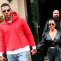 Kourtney Kardashian Shops With Younes Bendjima In Paris, As Her Pregnant Sisters Cause A Stir In The U.S.