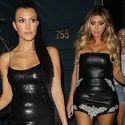 Kourtney Kardashian Rocks A Sequined LBD To Her Pretty Little Thing Clothing Collection Launch