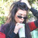Kourtney Kardashian Shows Off Her Killer Abs In A Crop Top