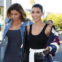 Cougar Pals Kourtney Kardashian And Larsa Pippen Grab Coffee