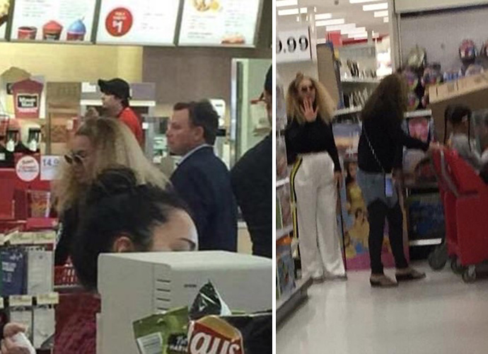 Beyoncé and Blue Ivy spotted shopping at Target, and everybody loses it