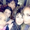 "J.Lo Hosts The Kardashian Clan For ""Taco Wednesday"" At Her And A-Rod's House"