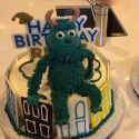 Kim And Kourtney Throw Sons Saint And Reign A Joint <em>Monsters Inc.</em> Birthday