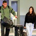 Kourtney Kardashian And Younes Bendjima Return From Sexy Mexican Vacay
