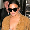 Demi Lovato Flaunts Her Curves In A Crop Top After Declaring She's Given Up Dieting