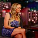 Stormy Daniels Heads Back To Her Hotel After Playing Coy About Donald Trump Affair On <em>Jimmy Kimmel</em>