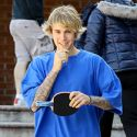 Justin Bieber Spends The Day Before His Birthday Playing Ping Pong And Grabbing Poke