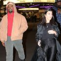 Kanye And Kourtney Go To See <em>Black Panther</em>