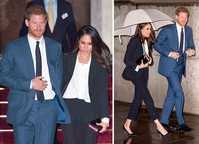 Prince Harry and Meghan Markle make ultra-cool red carpet debut