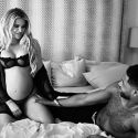 Khloe Embraces Her Bare Bump In Bed With Tristan Thompson