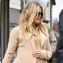 Khloe Gets A Police Escort While Shopping For Her Baby Girl