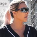 Kim K And Her Sisters Enlist A-Rod To Coach Their Softball Game