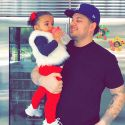 Rob Kardashian Shows Off Weight Loss In Birthday Snapchat With Daughter Dream
