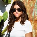 Sofia Richie Models Sunglasses In Skimpy Bikini Bottoms