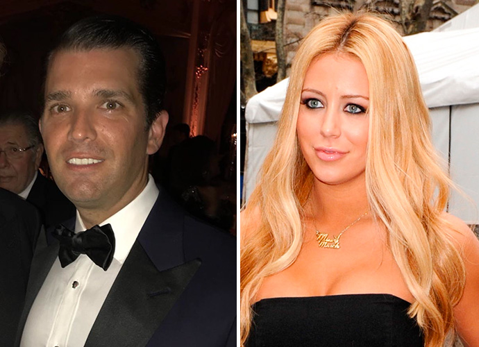 Donald Trump Jr. And Aubrey O'Day Were