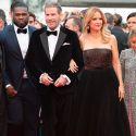John Travolta Dances On Stage While 50 Cent Raps At Cannes