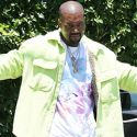 Kanye Is Feelin' Himself In His New Yeezy Gear