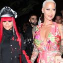 Blac Chyna Supports Bestie Amber Rose At Her App Launch Party