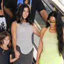 Kourtney Hangs With Kim After Her Sisters Slam Younes Bendjima For Those Mexico Pix