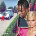 Travis Scott Gifts Kylie Jenner A Vintage Rolls Royce For Her 21st Birthday